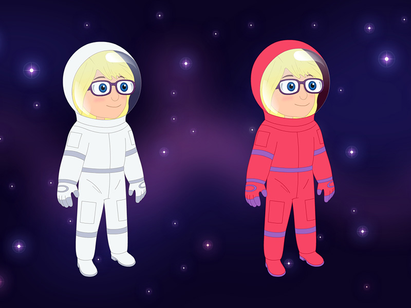 Melody spacesuit concepts